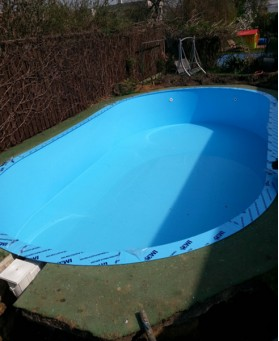 Vnější foliové bazény